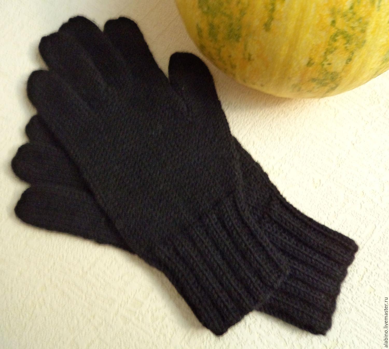 Связать перчатки просто