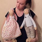 Куклы и игрушки ручной работы. Ярмарка Мастеров - ручная работа Праздничные Зайцы (разные). Handmade.