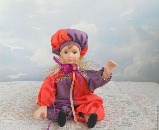 Винтажные куклы и игрушки. Ярмарка Мастеров - ручная работа. Купить винтажный клоун. Handmade. Комбинированный, буффоны