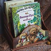 Для дома и интерьера ручной работы. Ярмарка Мастеров - ручная работа Подставка для детских книг. Handmade.