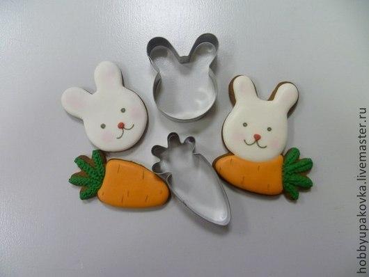 """Другие виды рукоделия ручной работы. Ярмарка Мастеров - ручная работа. Купить Форма  """"Заяц"""" для выпечки пряников-печенья. Handmade."""