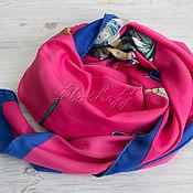 Аксессуары handmade. Livemaster - original item Silk handkerchief made of Hermes fabric