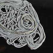 handmade. Livemaster - original item Porcelain brooch