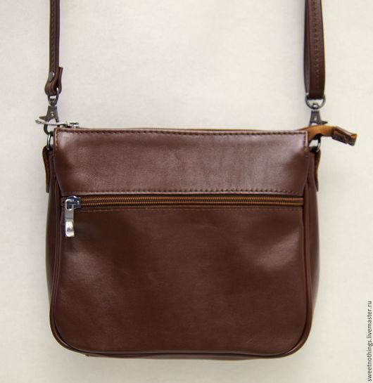 Сумки и аксессуары ручной работы. Ярмарка Мастеров - ручная работа. Купить Маленькая светло-коричневая сумочка. Handmade. Кожаная сумка
