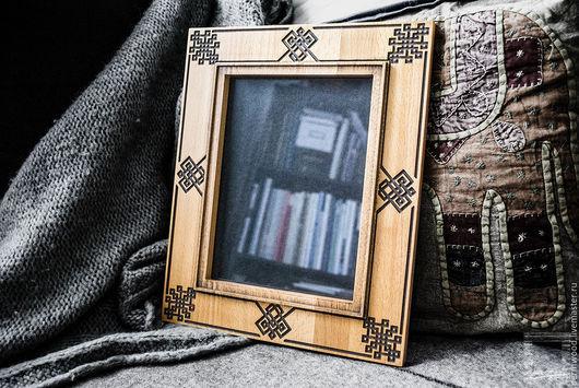Фоторамки ручной работы. Ярмарка Мастеров - ручная работа. Купить Резная рамка (для фото 18x24 cm.). Handmade.