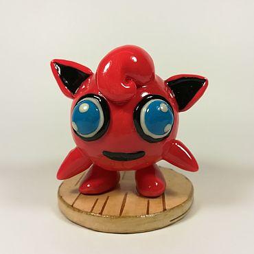 Куклы и игрушки ручной работы. Ярмарка Мастеров - ручная работа Покемон Джиглипаф Коллекционная игрушка. Handmade.