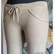 Одежда handmade. Livemaster - original item Knitted pants