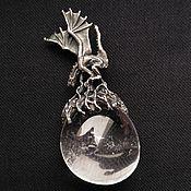 """Украшения ручной работы. Ярмарка Мастеров - ручная работа Кулон """"Гнездо дракона"""". Handmade."""