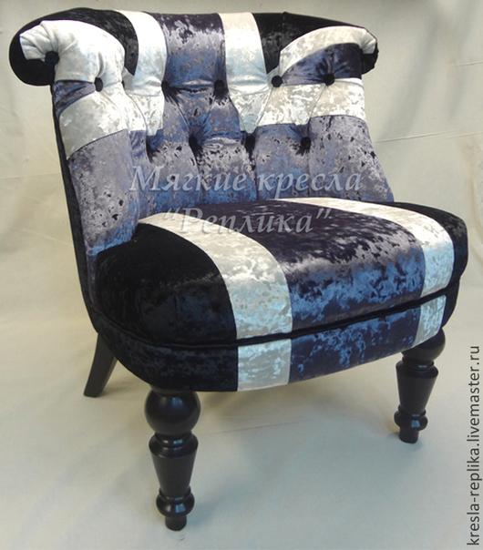 """Мебель ручной работы. Ярмарка Мастеров - ручная работа. Купить Кресло """"пэчворк"""" Union Jack. Handmade. Кресло, кресло для дома"""