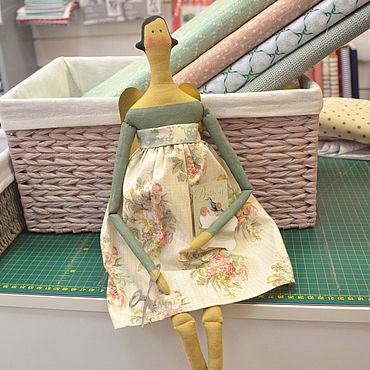 Куклы и игрушки ручной работы. Ярмарка Мастеров - ручная работа Швейный ангел. Handmade.