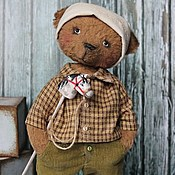 """Куклы и игрушки ручной работы. Ярмарка Мастеров - ручная работа """"Юрочка""""(серия Old photos). Handmade."""