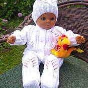 Одежда детская handmade. Livemaster - original item Baby clothing sets: overalls, beanie, socks. Handmade.