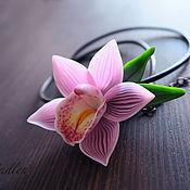 Украшения ручной работы. Ярмарка Мастеров - ручная работа ...Чувственность...кулон, орхидея. Handmade.