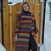 Одежда ручной работы. Ярмарка Мастеров - ручная работа Пальто Пражская осень-2 оверсайз. Handmade.