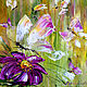 Butterflies in the meadow oil painting. Pictures. Zabaikalie. Online shopping on My Livemaster.  Фото №2