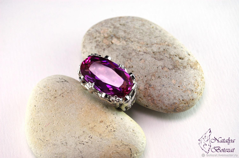 Украшения, украшение кольца, кольцо серебро, кольцо из серебра, кольцо с  сапфиром, ... 7d1604d3a49