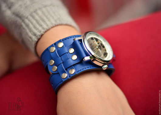 Часы ручной работы. Ярмарка Мастеров - ручная работа. Купить Часы наручные женские Knight Sky. Handmade. Часы наручные