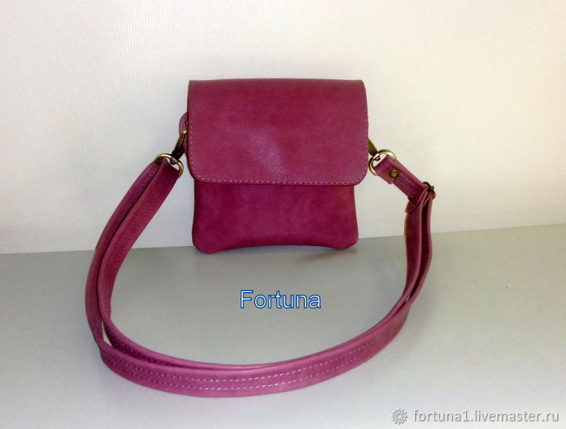 Leather bag ' Summer 2', Crossbody bag, St. Petersburg,  Фото №1
