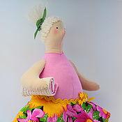 Куклы и игрушки ручной работы. Ярмарка Мастеров - ручная работа Тильда толстушка пляжница Лидия. Handmade.