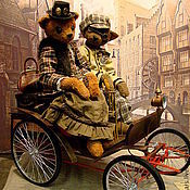 """Куклы и игрушки ручной работы. Ярмарка Мастеров - ручная работа """"ХХ век начинается"""". Handmade."""