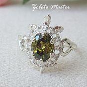 Украшения handmade. Livemaster - original item Silver Turtle ring. Handmade.
