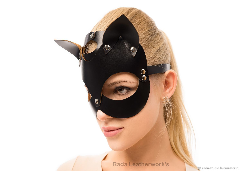 Кожаные маски для фотосессии