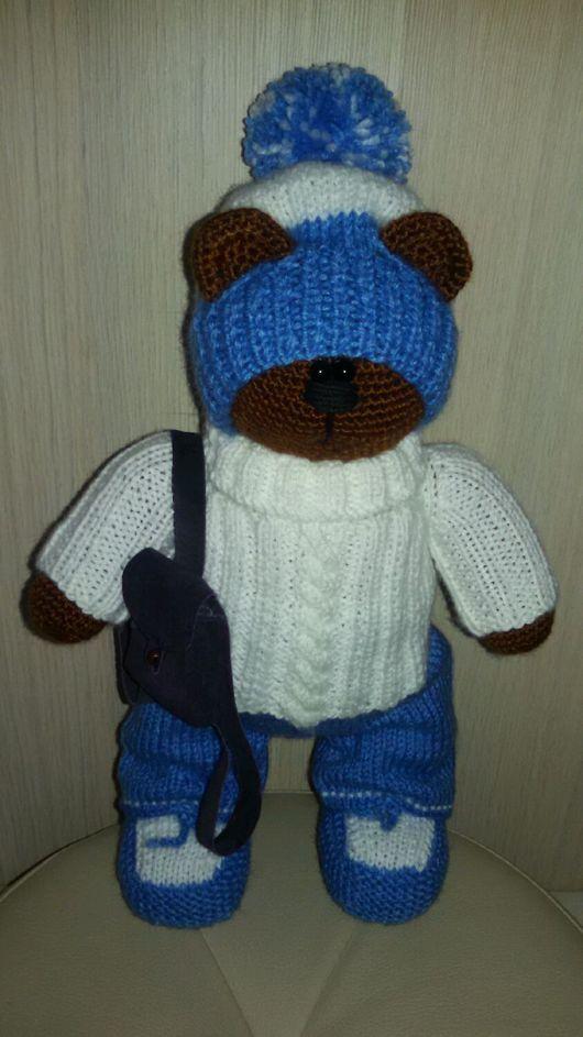 Игрушки животные, ручной работы. Ярмарка Мастеров - ручная работа. Купить Медведь Миня. Handmade. Вязание крючком, медведь