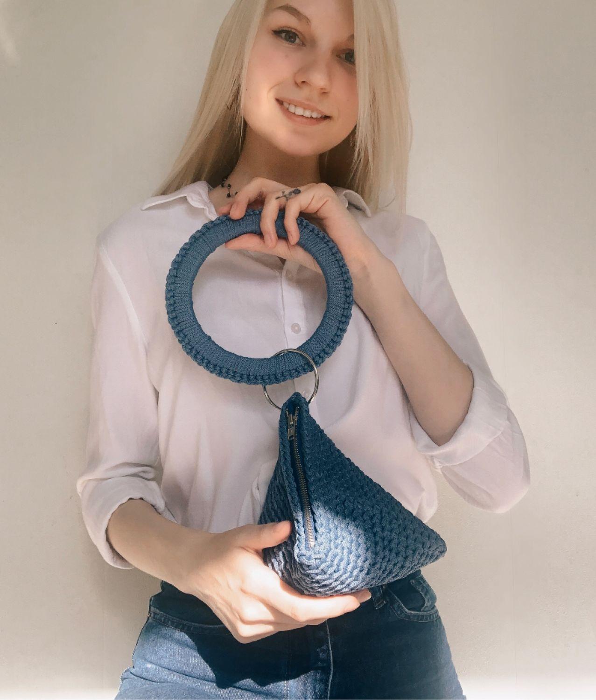 Треугольная сумочка, Классическая сумка, Коломна,  Фото №1