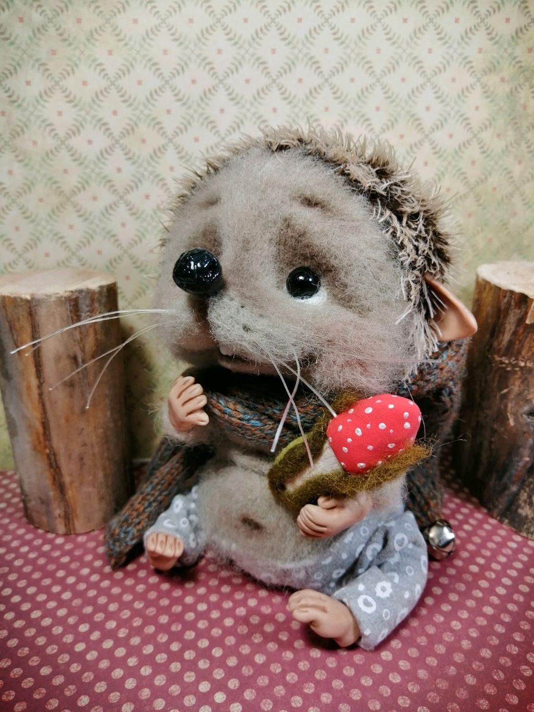 Жульенчик, Войлочная игрушка, Санкт-Петербург,  Фото №1
