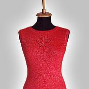 Одежда ручной работы. Ярмарка Мастеров - ручная работа Платье без рукавов. Handmade.