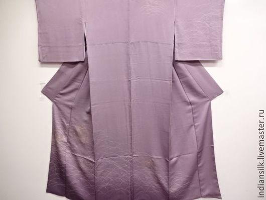 Одежда. Ярмарка Мастеров - ручная работа. Купить Винтажное кимоно из натурального шелка. Handmade. Комбинированный, японский шелк, национальный костюм