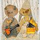 Мишки Тедди ручной работы. Заказать Тит Кузьмич и Фрол Фомич - мишки тедди. ЛуКс:)) Кукольное счастье! (Ксения). Ярмарка Мастеров.
