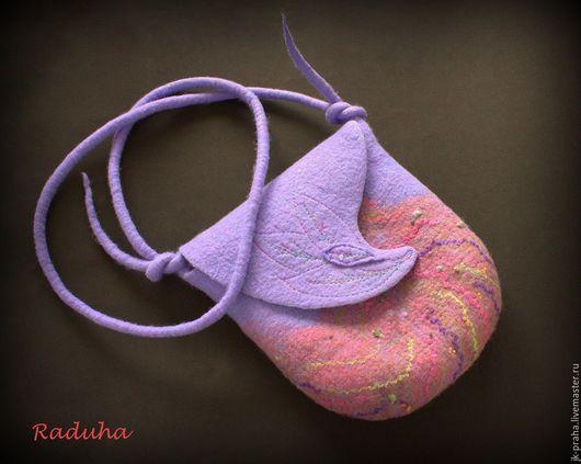 Женские сумки ручной работы. Ярмарка Мастеров - ручная работа. Купить Сумочка. Handmade. Сиреневый, сумка ручной работы, сказочный