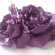 """Украшения ручной работы. Ярмарка Мастеров - ручная работа Украшение-брошь из ткани """"Розы ЛедиЛилу"""". Handmade."""