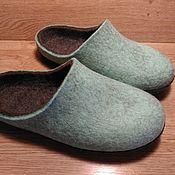 Обувь ручной работы. Ярмарка Мастеров - ручная работа Свежие домашние тапки разм 39-40. Handmade.