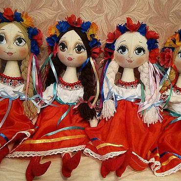 Куклы и игрушки ручной работы. Ярмарка Мастеров - ручная работа Кукла в национальном Украинском костюме. Handmade.