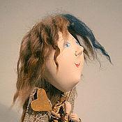 Куклы и игрушки ручной работы. Ярмарка Мастеров - ручная работа маленький ангел на подставке. Handmade.