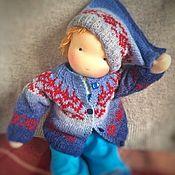 Куклы и игрушки handmade. Livemaster - original item Waldorf doll - boy. Handmade.