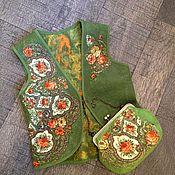 """Одежда ручной работы. Ярмарка Мастеров - ручная работа Жилет""""Осенний вечер"""". Handmade."""