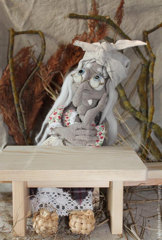 Коллекционные куклы ручной работы. Ярмарка Мастеров - ручная работа. Купить коллекционная кукла Баба Яга. Handmade. Разноцветный