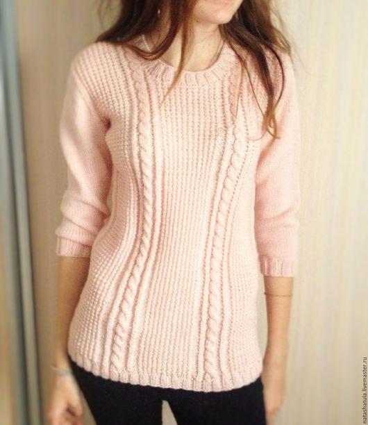 Молодежные вязанные свитера женские с доставкой