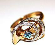 """Украшения ручной работы. Ярмарка Мастеров - ручная работа Комплект кольцо и серьги """"JIVE ME"""". Handmade."""
