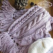 Аксессуары ручной работы. Ярмарка Мастеров - ручная работа шарф Зима в Провансе. Handmade.