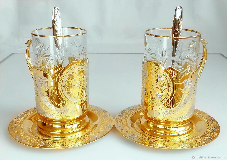 Gift tea pair z346, Tea & Coffee Sets, Chrysostom,  Фото №1