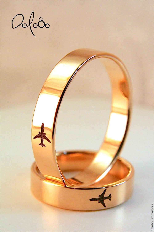 14ebf8f26383 Заказать Обручальные кольца с гравировкой из золота. DeloBo. Ярмарка  Мастеров