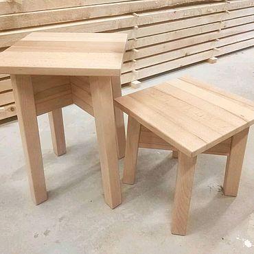 Мебель ручной работы. Ярмарка Мастеров - ручная работа Табурет №1. Handmade.