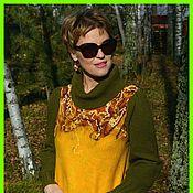"""Одежда ручной работы. Ярмарка Мастеров - ручная работа Платье """"Осень..."""". Handmade."""