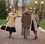 Одежда ручной работы. Ярмарка Мастеров - ручная работа Пальто вязаное Тепло осени. Handmade.