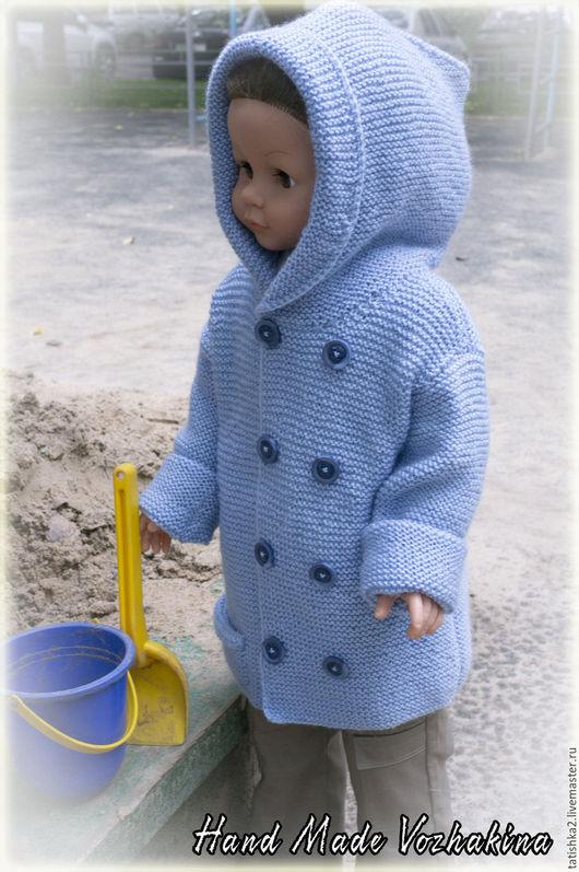 Одежда для мальчиков, ручной работы. Ярмарка Мастеров - ручная работа. Купить Жакет малышу. Handmade. Голубой, одежда для детей