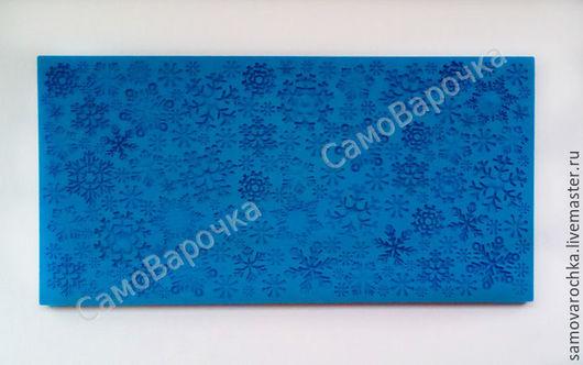 Текстурный лист ` Снежинки`